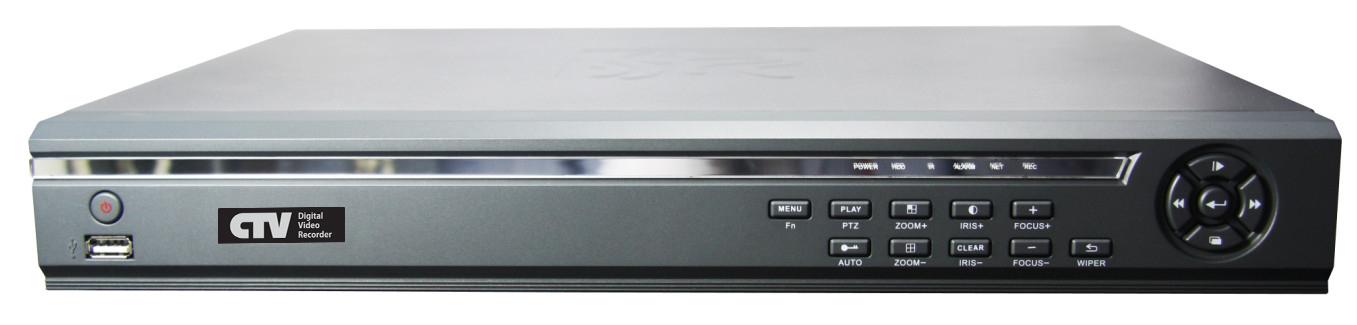 Новые цифровые видеорегистраторы торговой марки  CTV